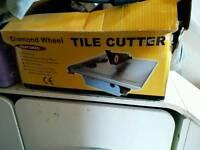Tile cutter wet
