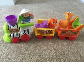 Fisher Price Little People Musical Zoo Train - Fully working, great condition. £10