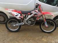 Honda crf 250 r 2005
