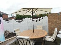 garden patio furniture set.