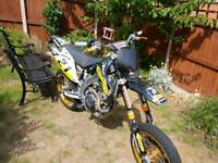 Honda CRF 450 Supermoto 2005 electric start