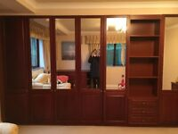 Set of Quality Rosewood bedroom furniture