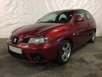 2006 Seat Ibiza 1.4 16v Sport 3dr **Full Years MOT**