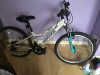 Ladies/girls apollo bike. Hardly been used.