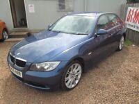 BMW 3 SERIES 2005 55 2.0 LTR PETROL 1 YEAR MOT 18 INCH ALLOY WHEELS WARRANTIED VERY CLEAN CAR!!!