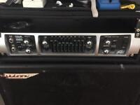 Peavey 450 tour head, ashdown 2x10 and 1x15 Abm cabs bass amp
