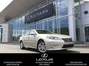 2013 Lexus ES 350 with Leather + Backup