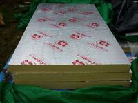 Three Celotex GA4100 insulation boards 2400mm x 1200mm x 100mm