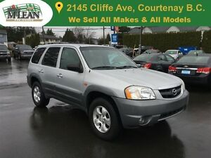 2001 Mazda Tribute ES Leather Seats Sunroof