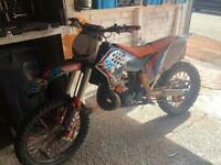 Ktm 250 2 stroke 2010 swap for exc can add cash