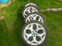 S t alloys with tyres