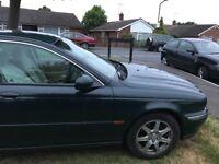 Jaguar x type 02 so ford parts, cheap to run. 6 months MOT