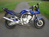 Yamaha Fazer 1000, 2002 vgc..rides excellent.