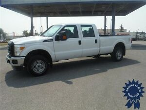 2016 Ford F350 XL SuperCrew-4WD-Gas-8ft Long Box-6 Passenger