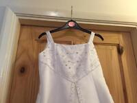 Beautiful detail communion dress