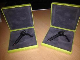 Ortofon stylus a pair only used once in cases