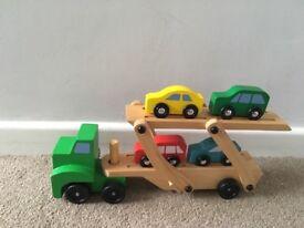 Mellissa and Doug car transporter set