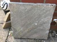 400 Paving slabs £1each. All sold