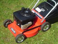 Rover ES/XL petrol lawnmower.
