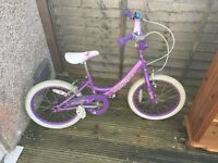 "Girls Bicycle 18"" Wheels"