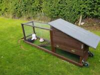 Chicken coop/tractor + chicks