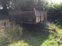 muck trailer - restoration project
