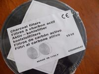 Charcoal filter (pair) for Rangemaster cookerhood
