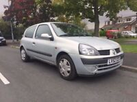Renault Clio 2002 1.2 16v Expression Hatchback 3d 1149cc NEW 1 YEAR MOT