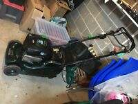 Hayter 41 petrol lawn mower 3 years old