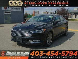 2017 Ford Fusion SE w/ Navigation, Sunroof, Backup Camera, AWD