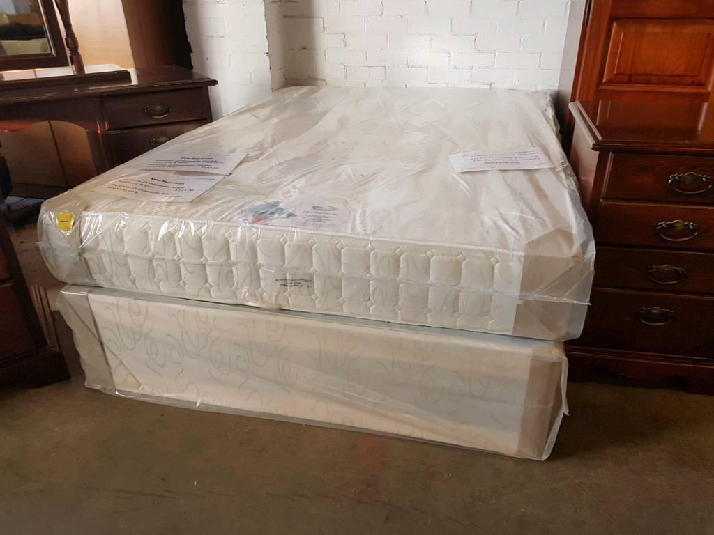 Excelsior deluxe orthopaedic double divan bed (brand new in original packaging)