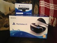 PlayStation 4 VR and camera new and sealed