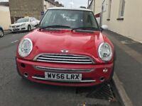 Cheap to go Mini Cooper 1.6 petrol 56 plate