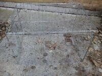 Large dog cage no base