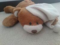 Pjs Night Case Teddy Bear