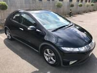 HONDA CIVIC ES 1.8 PETROL,PANORAMIC ROOF,DRIVES SUPERB,CRUISE CONTROL,GREAT CONDITION