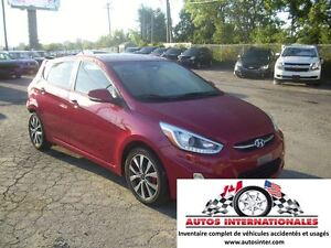 2015 Hyundai Accent GLS 5DR HATCH MAG SROOF GR ELECT RADIO SATEL