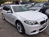 BMW 5 Series 2.0 520d M Sport Touring Auto 5dr£23,500 . UNDER MANUFACTURER'S WARRANTY