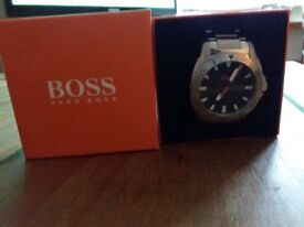 Hugo boss bought for Xmas few years ago, lovely watch but not my style looking to get rid.