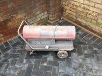 Clark diesel space heater
