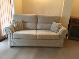 3 seater beige sofabed