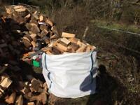 Builders Bag Of Hardwood Logs/Firewood