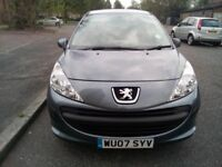 Peugeot 207 5 Door Hatchback 1.4 Low Mileage
