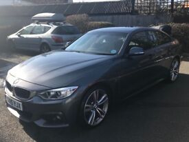 BMW 420d grancoupe M Sport, Automatic, 19 inch Alloys, Xenon, Pro Nav, leather heated seats