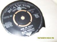 vinyl single records elvis presley