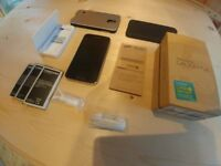 Samsung Galaxy S5+ (SM-G901F) 16GB - Black (Unlocked) 4G LTE. Boxed with manuals