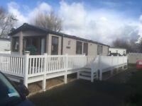 Prestige Caravan to rent/hire on Presthaven Beach Resort