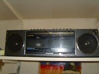 PANASONIC RX-D30LS/LE Stereo Radio Twin Cassette Recorder