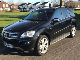 Mercedes ML300 with rear dvd systems for kids