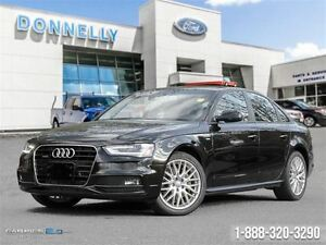 2016 Audi A4 QUATTRO, LEATHER, SUNROOF